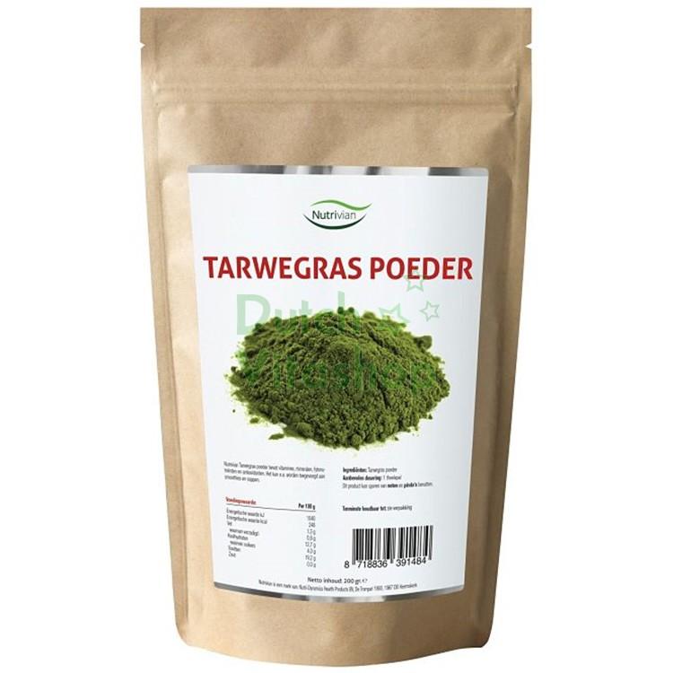 Tarwegras Poeder